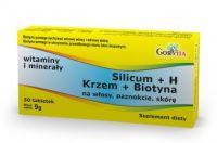 Silicum + H ( KRZEM+ BIOTYNA ) 30 tabletek